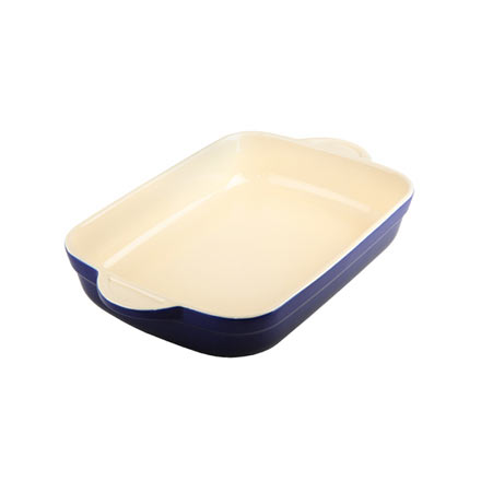 Denby Cook & Dine Royale Blue Oven To Table Medium Oblong