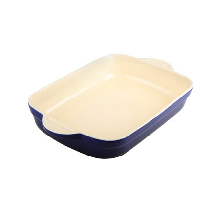 Denby Cook & Dine Royale Blue Oven To Table Large Oblong