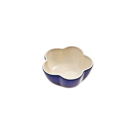 Denby Cook & Dine Royale Blue Oven To Table Flower Ramekin
