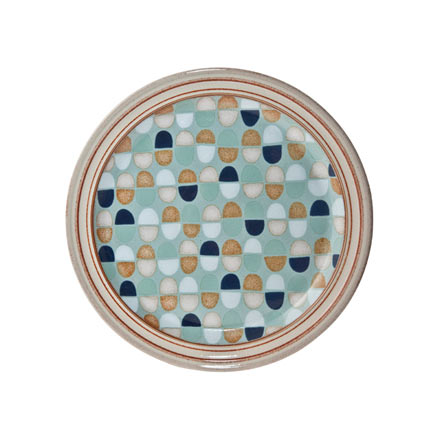 Denby Heritage Pavillion Blue Accent Salad Plate