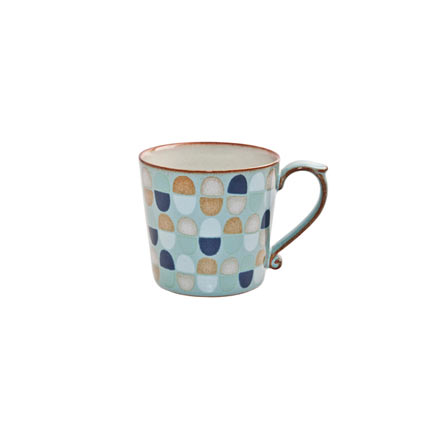 Denby Heritage Pavillion Blue Accent Large Mug