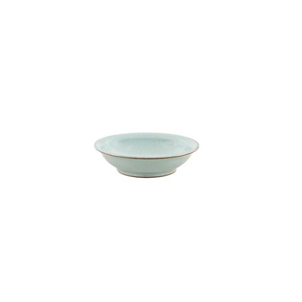 Denby Heritage Pavillion Blue Medium Shallow Bowl