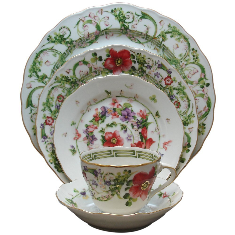 Versace Flower Fantasy Dinnerware Selections