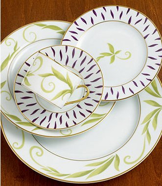 Bernardaud Frivole 5 Pc Setting