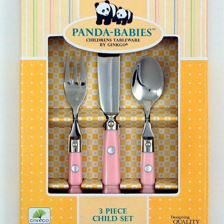 Ginkgo Panda Babies Le Prix Stainless