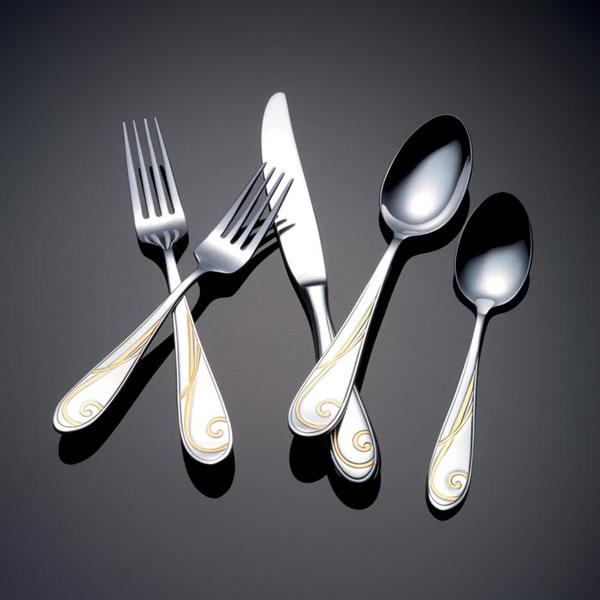 Yamazaki stainless flatware - Gone fishin flatware ...
