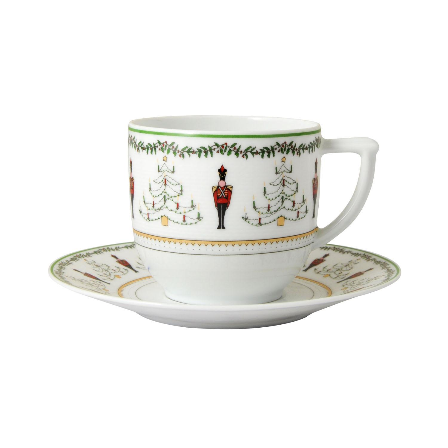 Bernardaud Grenadiers Coffee Saucer Only