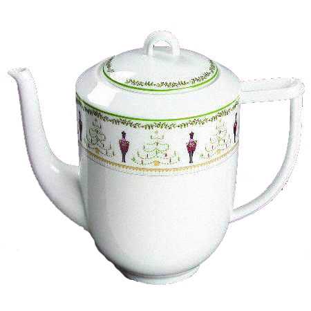 Bernardaud Grenadiers Coffee Pot