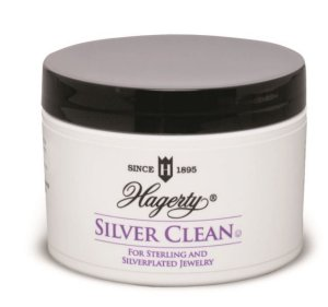 Hagerty Silver Clean (Wide-mouth opening, basket & brush included) - Case of 12 - 7 fl. oz. ea.