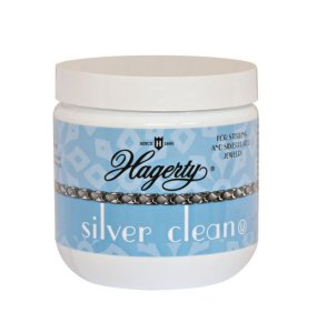 Hagerty Silver Clean (Crystal Blue Formulation, Basket Included) - Case of 12 - 7 fl. oz. ea.