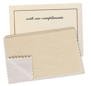 Hagerty Lasting Impressions Jewelry Polishing Cloth - 6