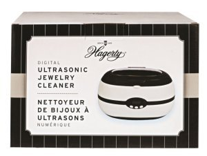 Hagerty Digital Ultrasonic Jewelry Cleaning Machine (Stainless steel tank)