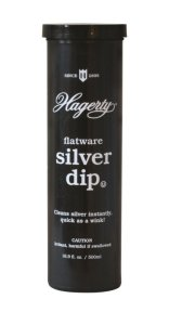 Hagerty Flatware Silver Dip (Crystal Blue Formulation, Basket Included) - 16.9 fl. oz.