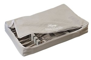Hagerty Zippered Stainless Drawer Liner (Holds Up To 120 Pcs.) - Case of 4 - 12