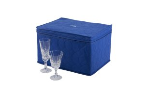 Hagerty Stemware Saver (Stores 12 pieces) - Case of 12 - 15.5