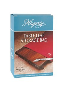 Hagerty Table Leaf Storage Bag (Zippered, 100% grey cotton) - Case of 6 - 25