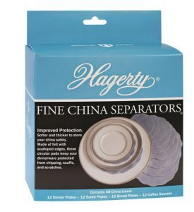 Hagerty Fine China Plate Separators (Felt - 48 pcs.)