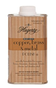 Hagerty Heavy Duty Copper, Brass & Metal Polish - 8 fl. oz.