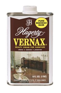 Hagerty  Vernax Furniture Polish (Pure beeswax based cream for furniture) - Case of 6 - 16 fl. oz. ea.