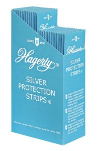 Hagerty Silver Protection Strips - Case of 24 - 8 (2