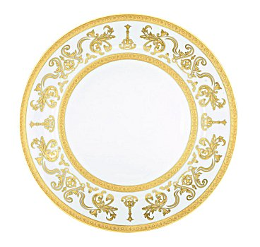Haviland COURONNE IMPERIALE WHITE GOLD Dinnerware