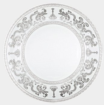 Haviland COURONNE IMPERIALE WHITE PLATINUM Dinnerware