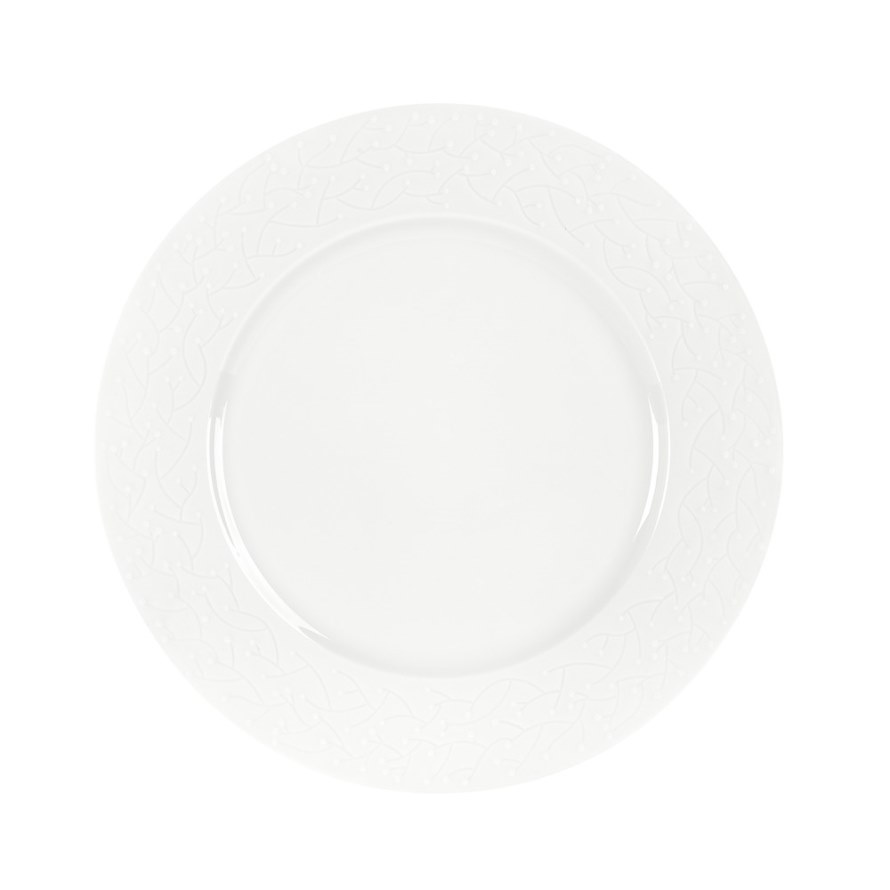 Haviland PROVENCE WHITE DIAMOND Dinner Plate