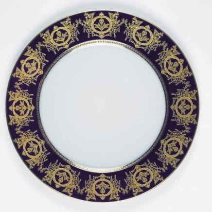 Haviland RITZ IMPERIAL BLEU DE FOUR Dinner Plate