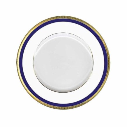 Haviland SYMPHONIE GOLD AND BLUE Dessert Plate