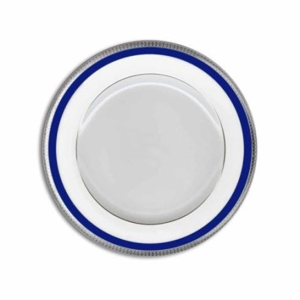 Haviland SYMPHONIE PLATINUM AND BLUE Dessert Plate