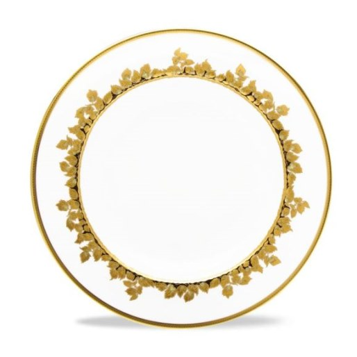 Haviland FEUILLE D'OR Round Deep Platter