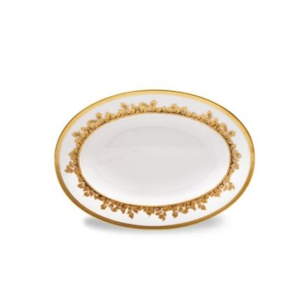 Haviland FEUILLE D'OR Small Platter / Pickle Dish