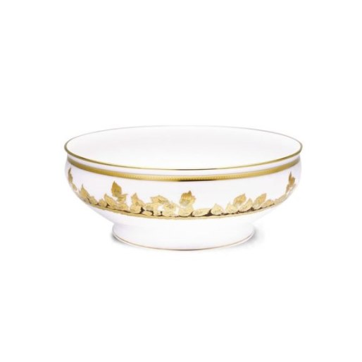 Haviland FEUILLE D'OR Salad Serving Bowl