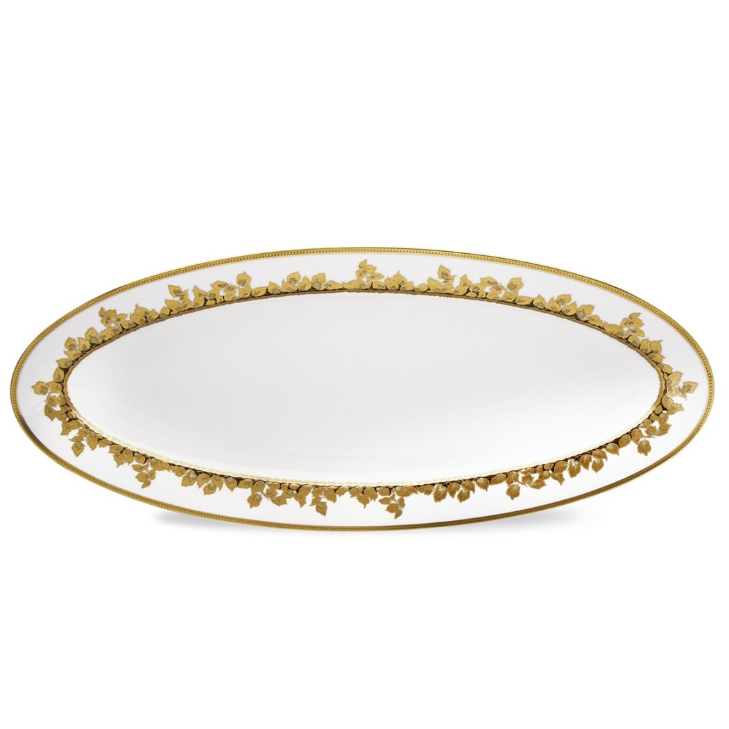 Haviland FEUILLE D'OR Fish Platter