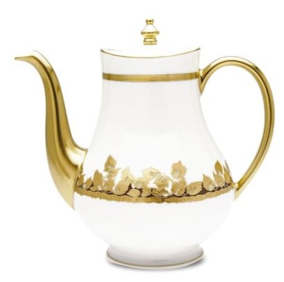 Haviland FEUILLE D'OR Coffee Pot, Large
