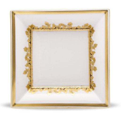 Haviland FEUILLE D'OR LARGE TRAY
