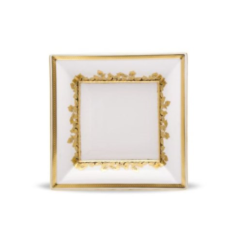 Haviland FEUILLE D'OR MEDIUM TRAY