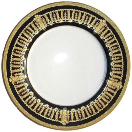 Haviland ST HONORE BLACK AND GOLD Charger