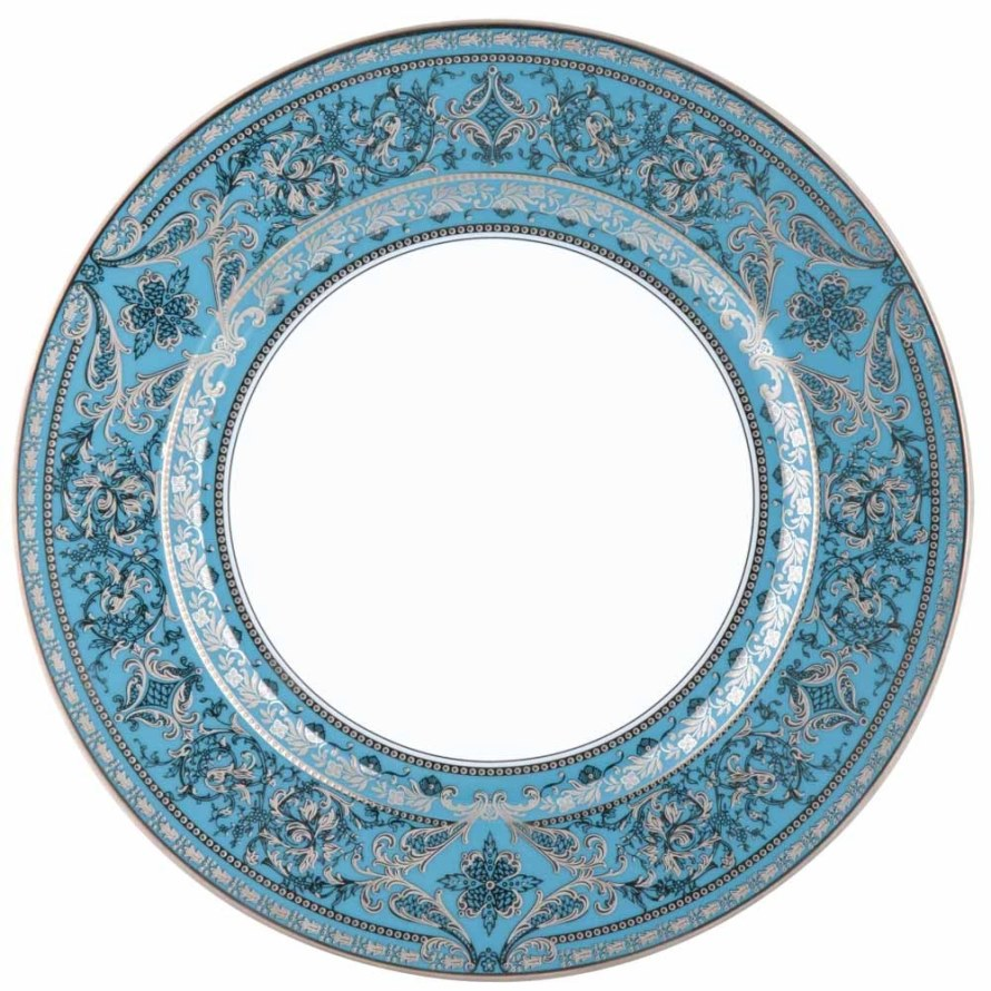 Haviland MATIGNON TURQUOISE AND PLATINUM Charger