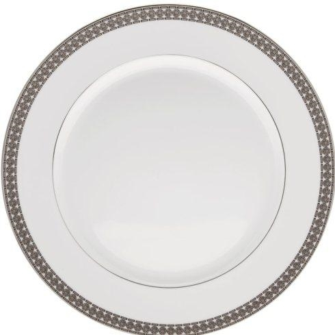 Haviland ETERNITY WHITE AND PLATINUM Chop Plate