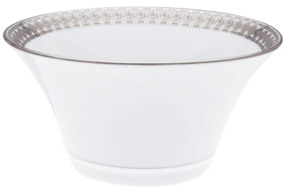 Haviland ETERNITY WHITE AND PLATINUM Cereal Bowl