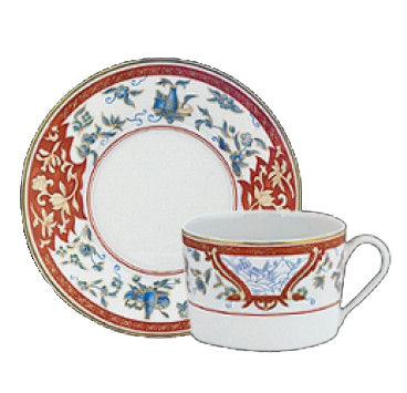 Haviland IMARI RED TEA CUP/SAUCER CYL 5.4 OZ