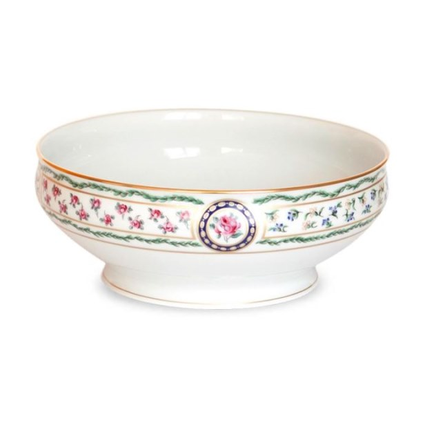 Haviland LOUVECIENNES Salad Serving Bowl