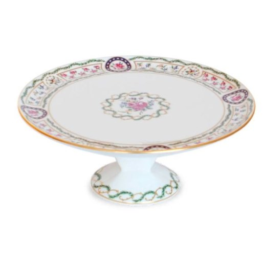 Haviland LOUVECIENNES Footed Cake Platter