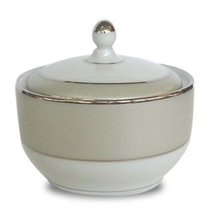 Haviland CLAIR DE LUNE UNI Covered Sugar Bowl