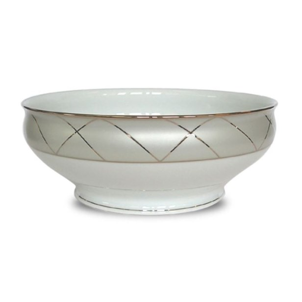 Haviland CLAIR DE LUNE WITH ARCHES Salad Serving Bowl