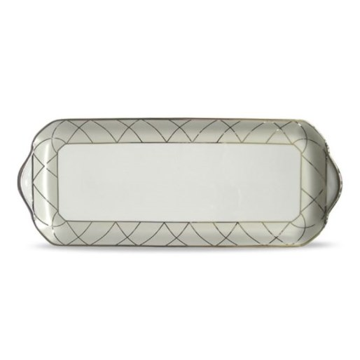 Haviland CLAIR DE LUNE WITH ARCHES Oblong Cake Platter