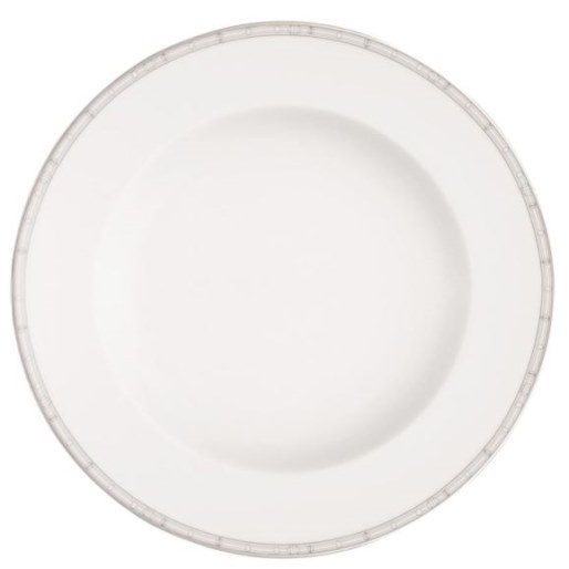 Haviland BELLE EPOQUE PLATINUM ROUND DEEP PLATTER
