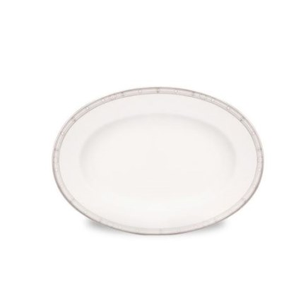 Haviland BELLE EPOQUE PLATINUM SMALL PICKLE DISH