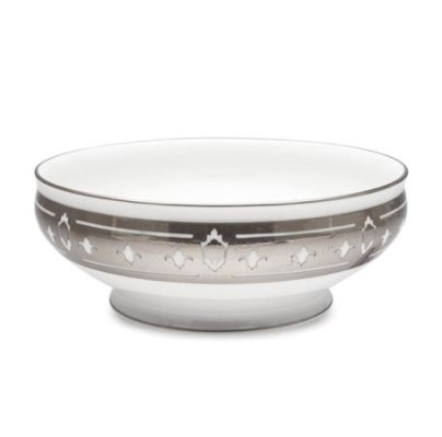 Haviland GRAND APPARAT PLATINUM Salad Serving Bowl